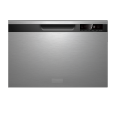 Midea 7 Place Settings Single Drawer Dishwasher Stainless Steel JHDWSD7SS