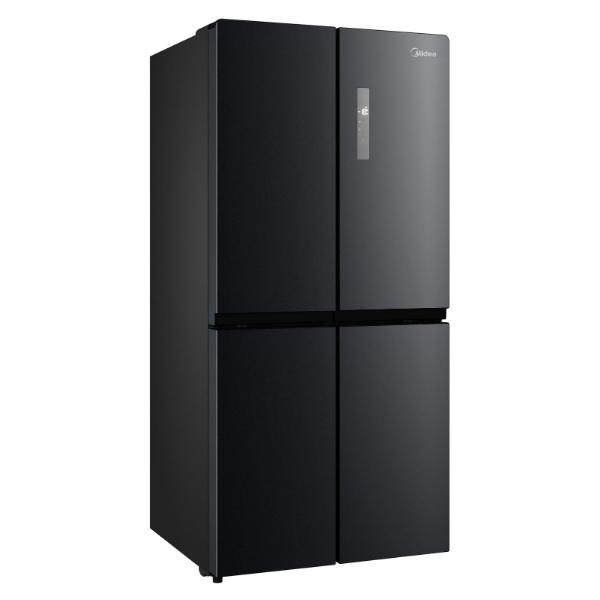 Midea 545L Cross Door Fridge Freezer Black Stainless Steel JHCDSBS545BK
