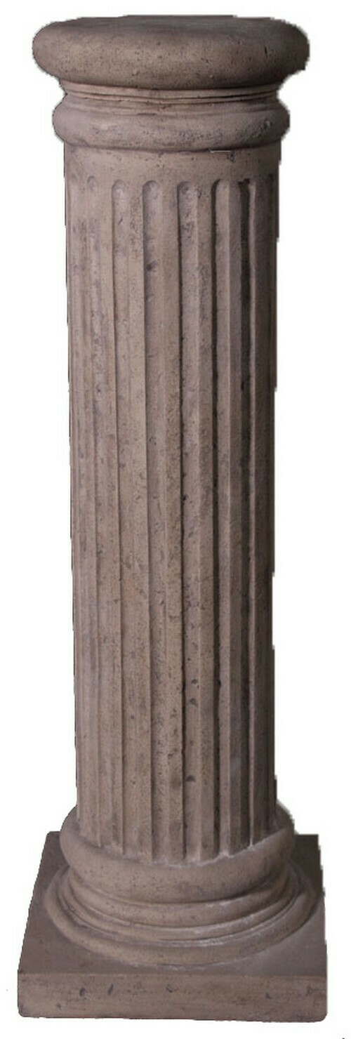Fluted Pedestal Round Top Small