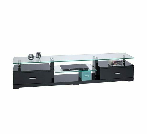 Glass Top TV unit
