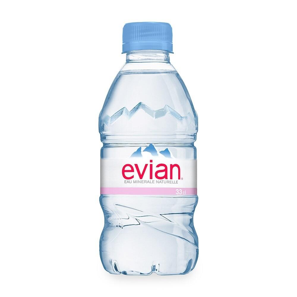 Вода EVIAN (Эвиан) 0.33 л