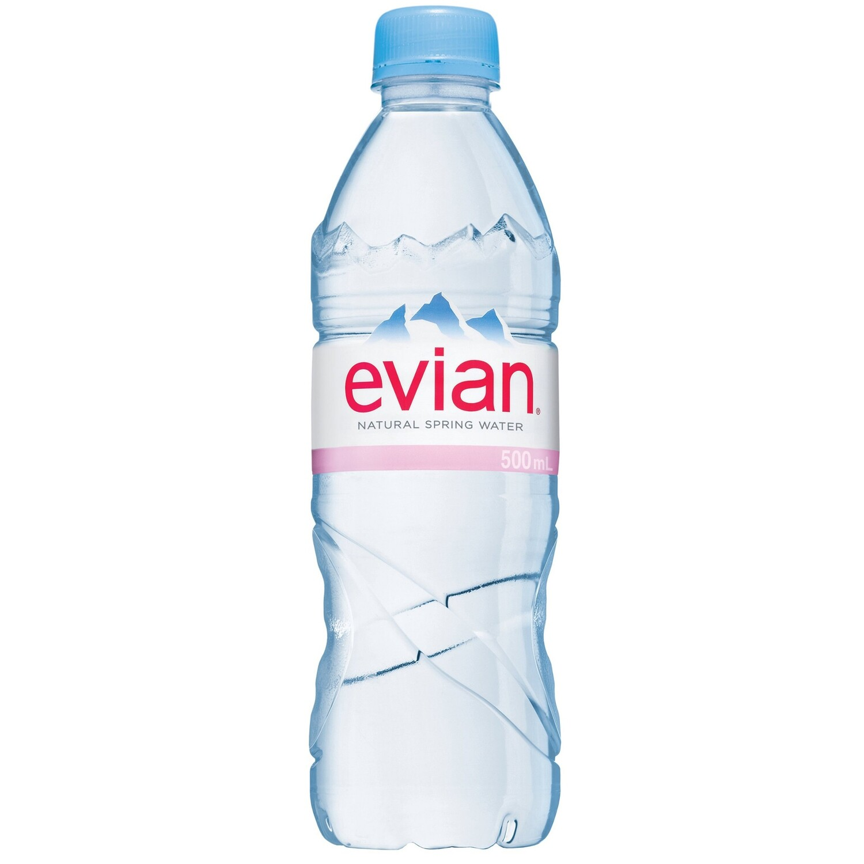 Вода EVIAN (Эвиан) 0.5 л.