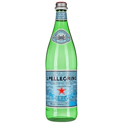 Вода SAN PELLEGRINO (Сан Пеллегрино) 0.75 л.