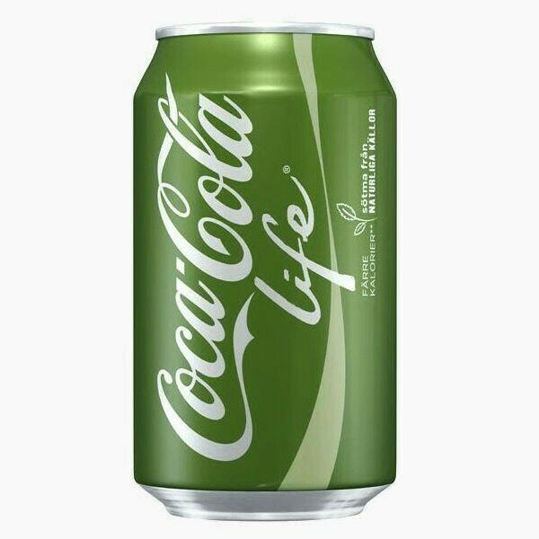 Напиток Coca-Cola Лайф, 0.355 л