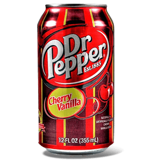 Напиток Dr.Pepper Cherry Vanilla, 0.355 л.