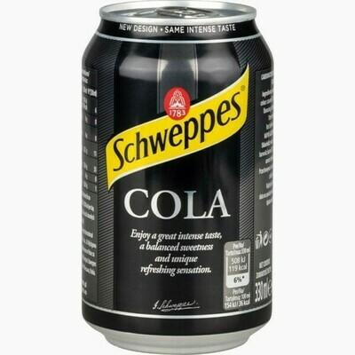 Напиток Schweppes Cola, 0.33 л.