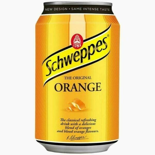 Напиток Schweppes Orange, 0.33 л