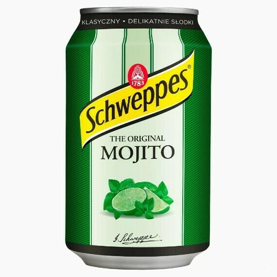 Напиток Schweppes Mojito, 0.33 л.