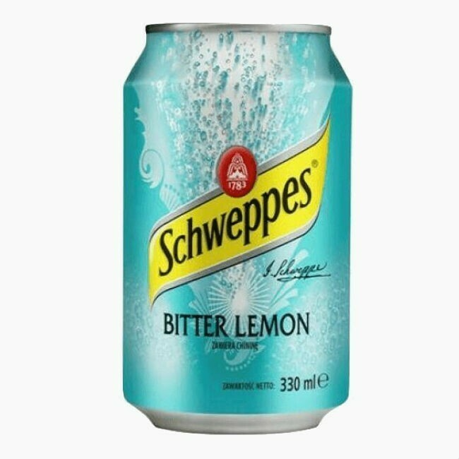 Напиток Schweppes Bitter Lemon, 0.33 л