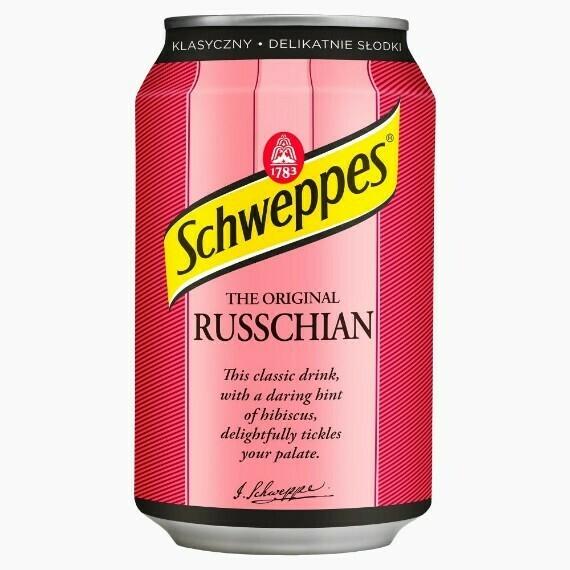 Напиток Schweppes Russchian, 0.33 л