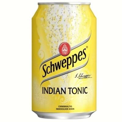 Напиток Schweppes Indian Tonic 0.33 л.