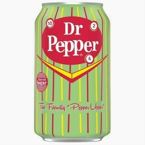 Напиток Dr. Pepper Real Sugar, 0.355 л.