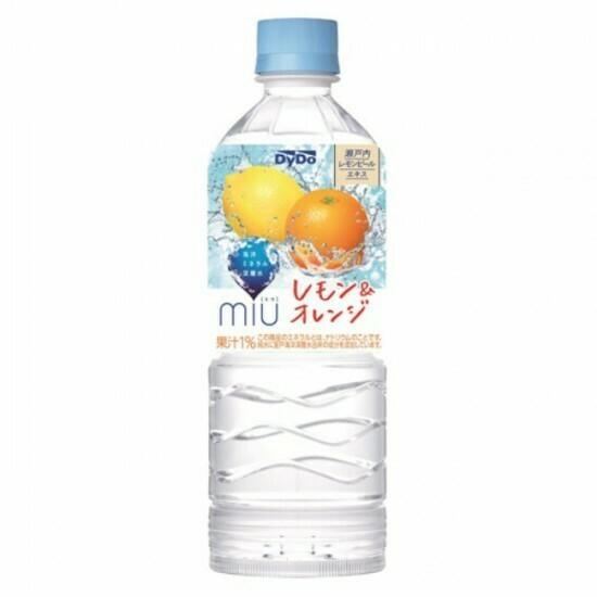 Вода Dydo MIU (Дайдо Миу), Лимон и Апельсин 0.55 л