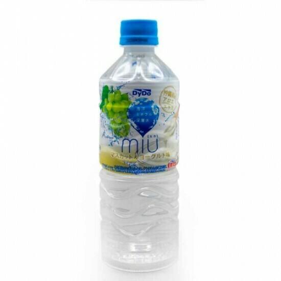 Вода Dydo MIU (Дайдо Миу) Мускат и Йогурт 0.55л
