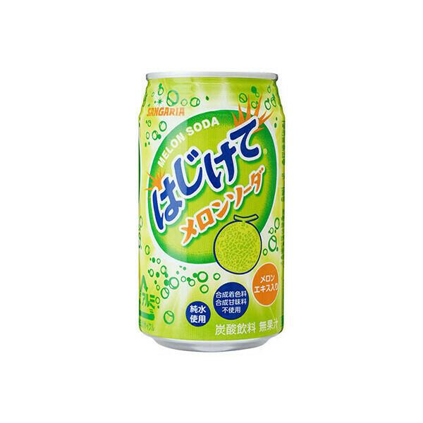 """Напиток Sangaria """"Melon"""" (дыня) 0.35 л"""