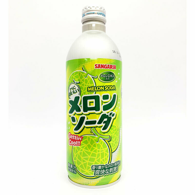 "Напиток Sangaria ""Melon Soda""(дыня) 0.5 л"