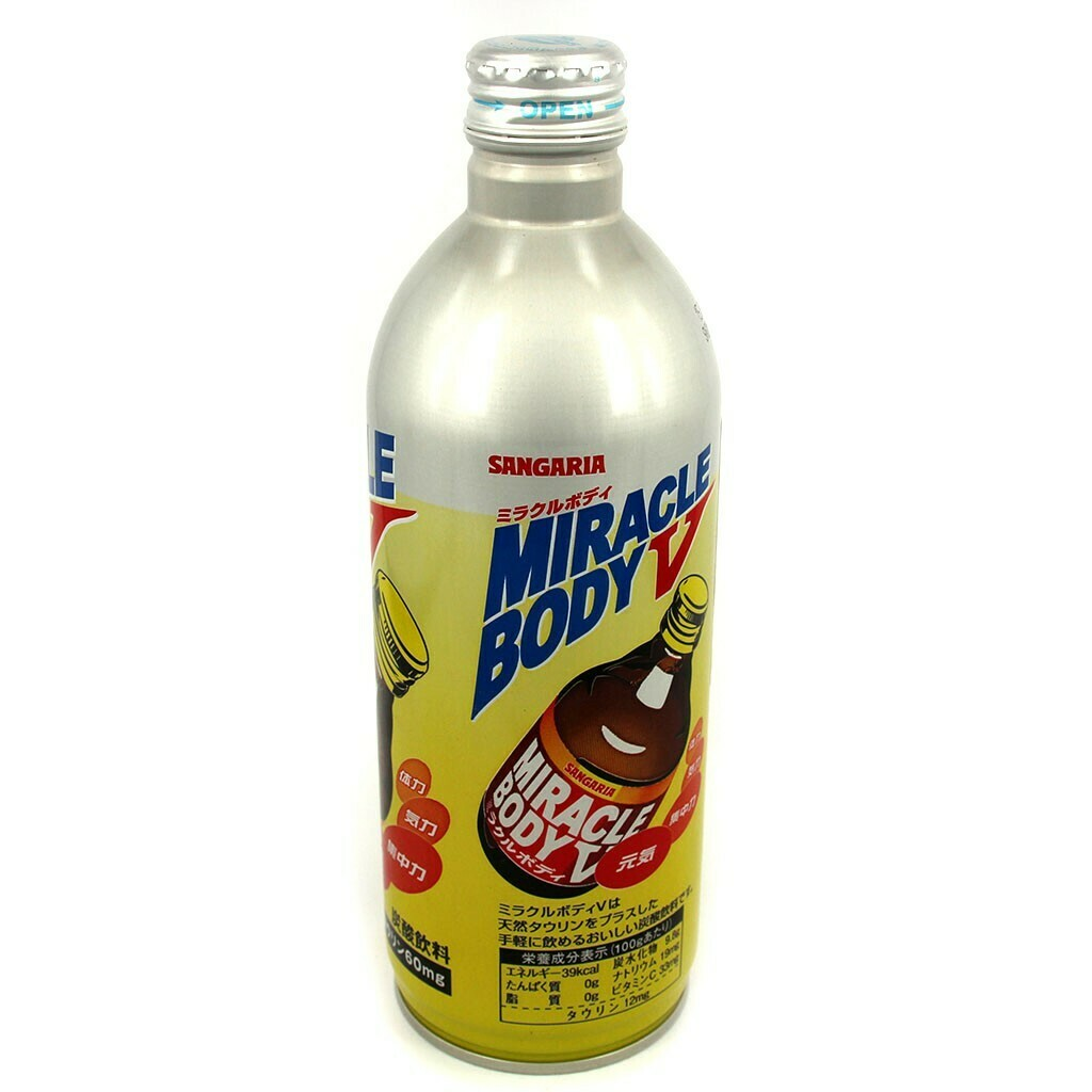 "Напиток Sangaria ""Miracle Body V"" (энергетик) 0.5 л"