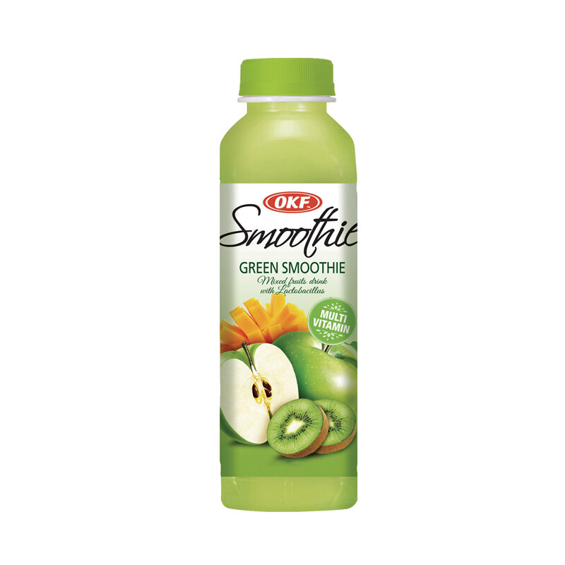 Мультивитаминный напиток OKF, Green Smoothie, 0.5 л
