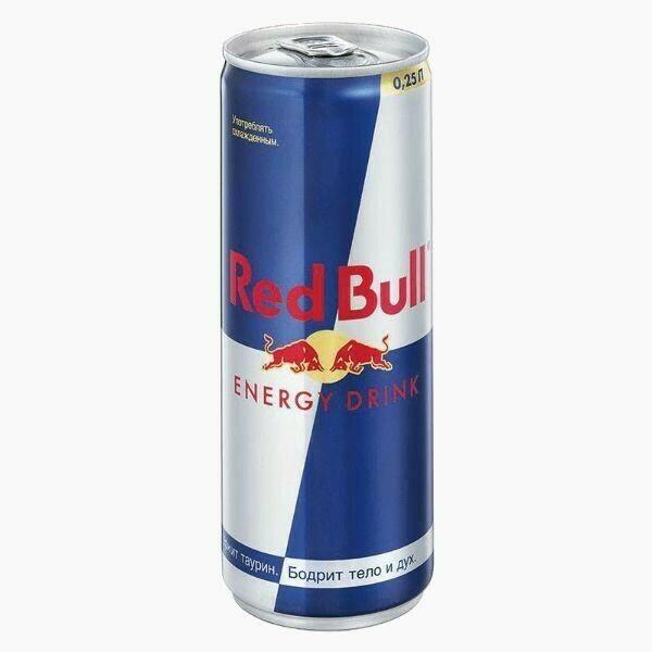 Энергетический напиток Red Bull, 0.25 л.