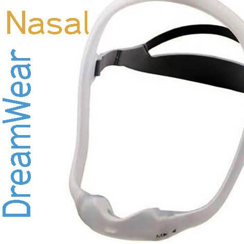 Mascarilla Nasal DreamWear Silicón Philips Respironics