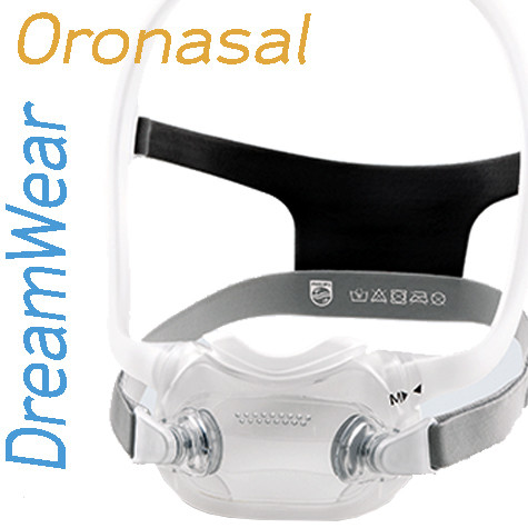 Mascarilla Oronasal DreamWear Philips Respironics