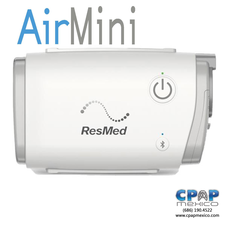 APAP Portátil AirMini AutoSet ResMed + Kit Adaptador a Mascarilla