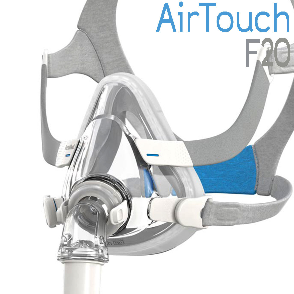 Mascarilla Oronasal AirTouch F20 ResMed - CPAP, BiPAP
