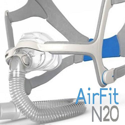 Mascarilla Nasal AirFit N20 ResMed - CPAP, BiPAP