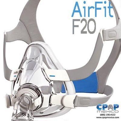 Mascarilla Oronasal AirFit F20 ResMed - CPAP, BiPAP