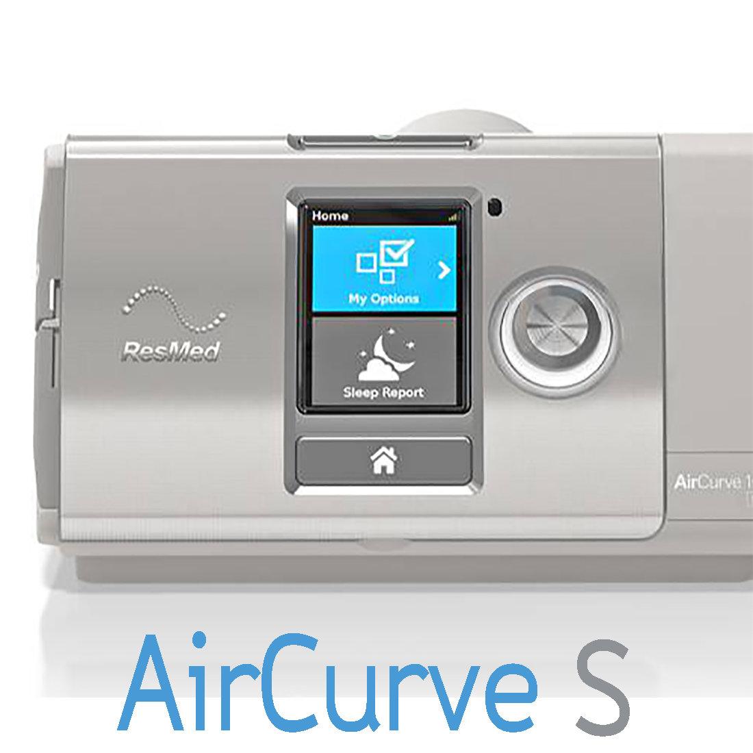 Equipo Binivel VPAP AirCurve 10 S ResMed con Humidificador