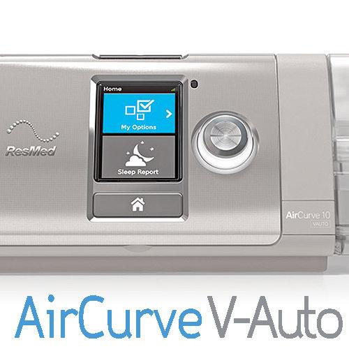 Equipo Binivel VPAP AirCurve 10 V-Auto ResMed con Humidificador