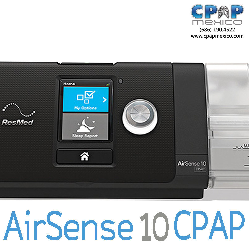 CPAP AirSense 10 ResMed FIJO con Humidificador