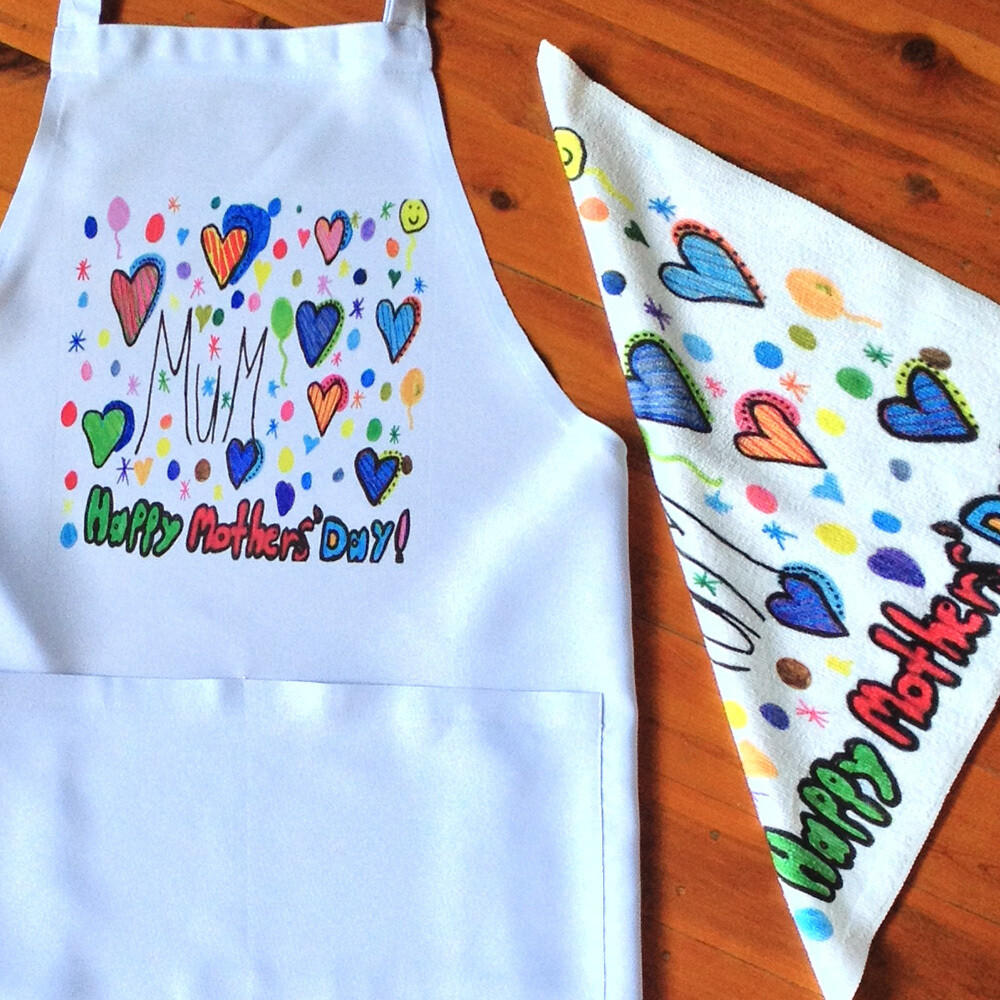Personalised Set - Apron and Towel