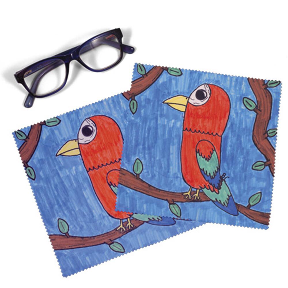 Personalised Glass/Screen Cleaning Cloth (Set of 2)