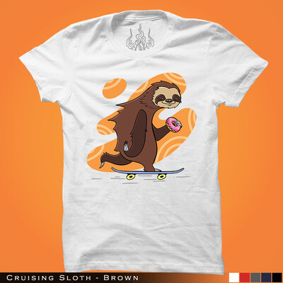 Cruising Sloth - Brown