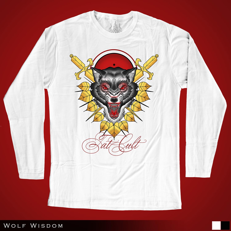 Wolf Wisdom - Long Sleeves
