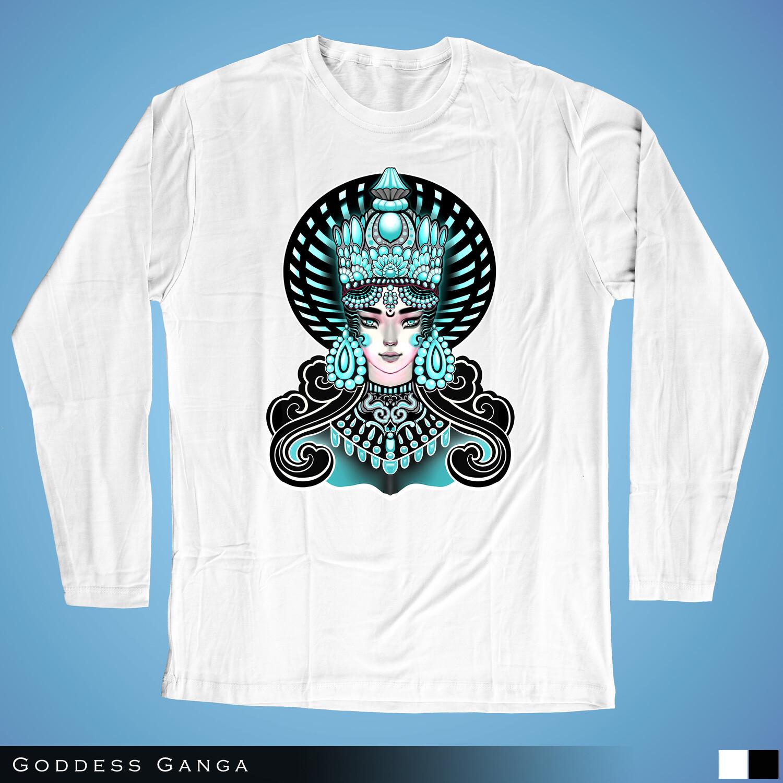 Goddess Ganga - Long Sleeves