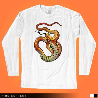 Fire Serpent - Long Sleeves