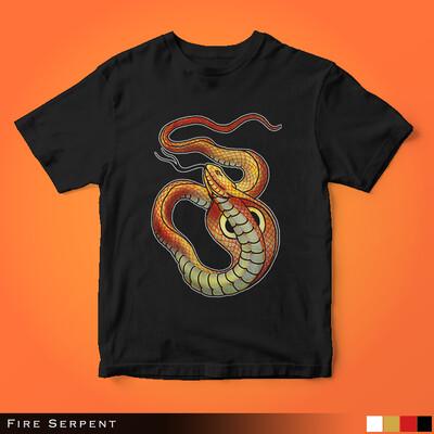 Fire Serpent - Kids Tee