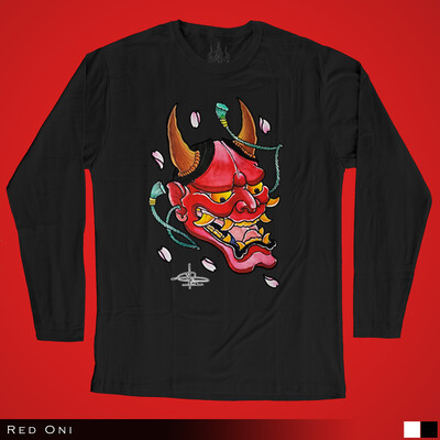 Red Oni - Long Sleeves