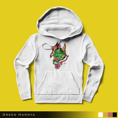 Green Hannya - Hoodie