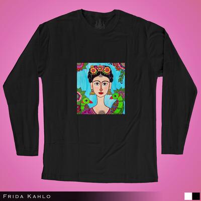 Frida Kahlo - Long Sleeves