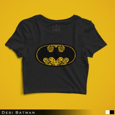 Desi Batman - Crop Top