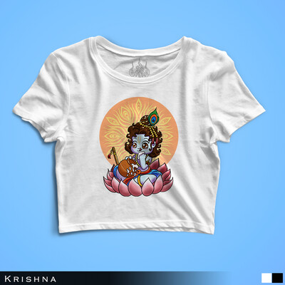 Baby Krishna - Crop Top