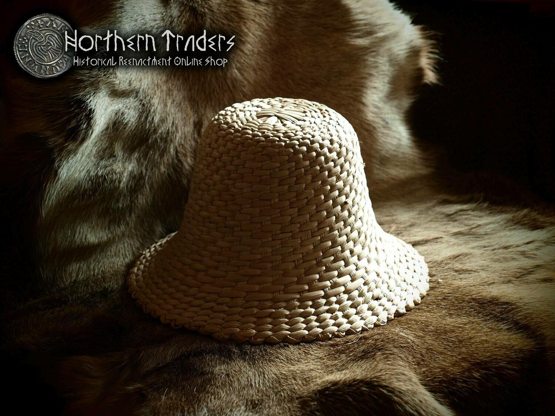"""""""Maciejowski"""" Medieval Straw Hat"""