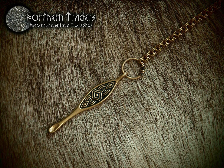 Scandinavian Ear Spoon Pendant