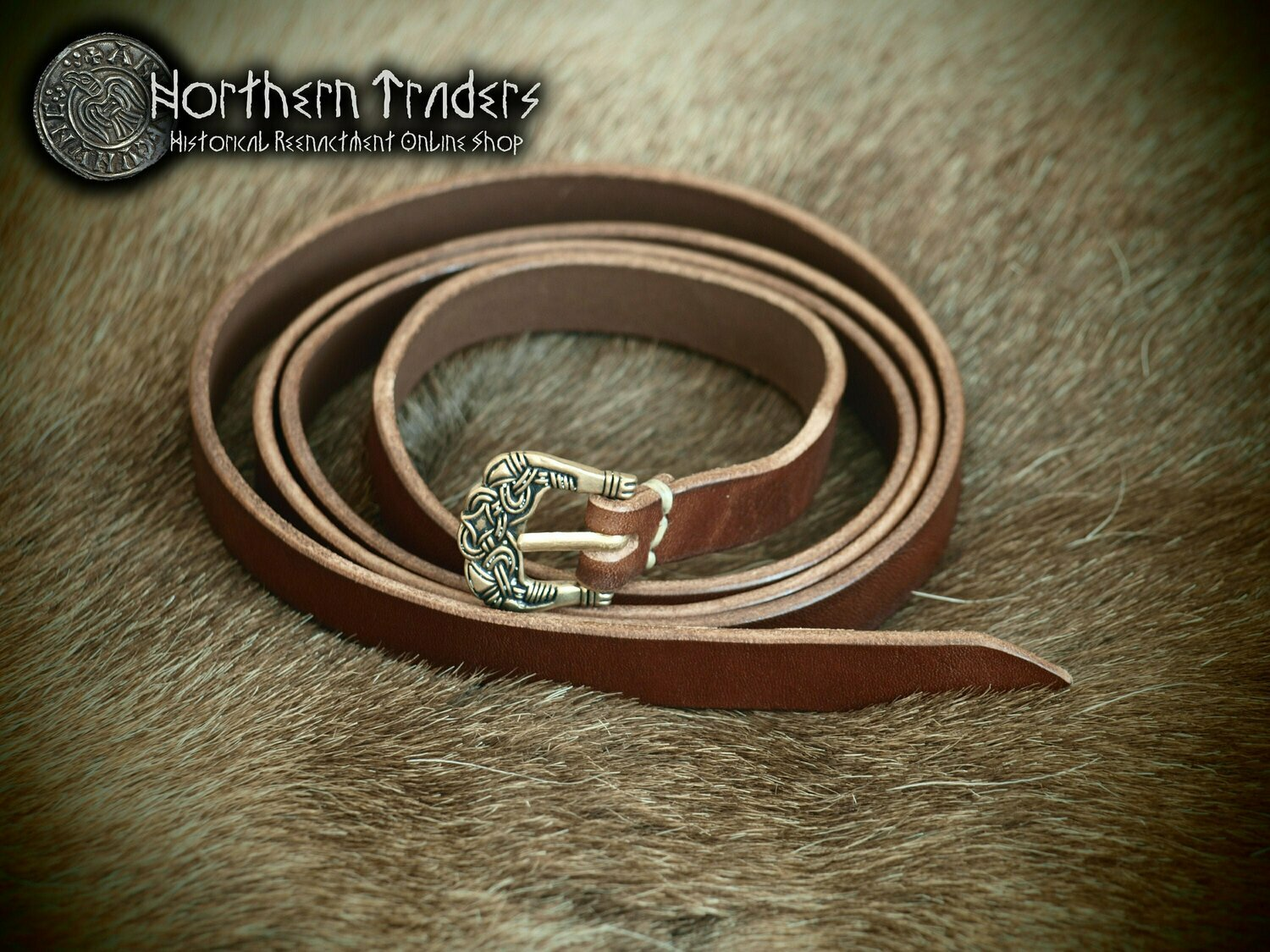 Viking Belt with Buckle from Birka