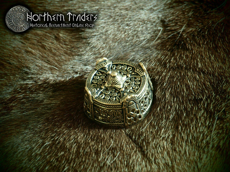 "Viking ""Box"" Brooch from Gotland"