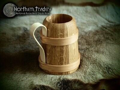 Medieval Wooden Jar