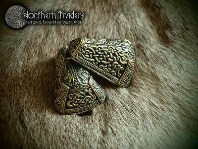 Animal Head Viking Brooch